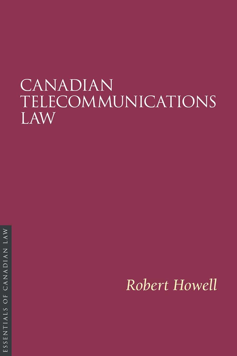 Telecommunications-Law